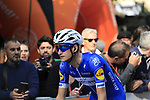 Mikkel Frolich Honore (DEN) Quick-Step Floors arrives at sign on before the start of the 99th edition of Milan-Turin 2018, running 200km from Magenta Milan to Superga Basilica Turin, Italy. 10th October 2018.<br /> Picture: Eoin Clarke | Cyclefile<br /> <br /> <br /> All photos usage must carry mandatory copyright credit (© Cyclefile | Eoin Clarke)