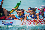 Athletes compete at the Red Bull Dragon Roar event at Stanley Main Beach on 11 July 2015, in Hong Kong, China. Photo by Aitor Alcalde /  Power Sport Images