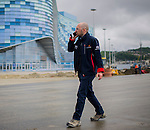 Formula One Triple World Champion Sebastian Vettel of Germany becomes first driver to sample the new Grand Prix venue at Sochi Olympic Park on 21 April 2013 in Sochi, Russia. Photo by Victor Fraile / The Power of Sport Images