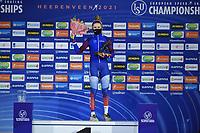 SPEEDSKATING: HEERENVEEN: 17-01-2021, IJsstadion Thialf,  ISU European Championships, ©photo Martin de Jong SPEEDSKATING: HEERENVEEN: 17-01-2021, IJsstadion Thialf, ISU European Speed Skating Championships, ©photo Martin de Jong