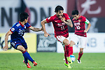 Guangzhou Forward Ricardo Goulart (R) in action against Suwon Midfielder Cho Won Hee (L) during the AFC Champions League 2017 Group G match between Guangzhou Evergrande FC (CHN) vs Suwon Samsung Bluewings (KOR) at the Tianhe Stadium on 09 May 2017 in Guangzhou, China. Photo by Yu Chun Christopher Wong / Power Sport Images