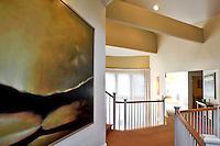 painting in the mezzanine