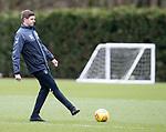07.03.2019 Rangers training: Steven Gerrard