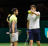 ABNAMRO World Tennis Tournament, 16 Februari, 2018, Rotterdam, The Netherlands, Ahoy, Tennis, Damir Dzumhur (BIH) / Filip Krajinovic (SRB)<br /> <br /> Photo: www.tennisimages.com