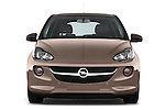 Straight front view of a 2013 Opel Adam Glam Hatchback2013 Opel Adam Glam Hatchback