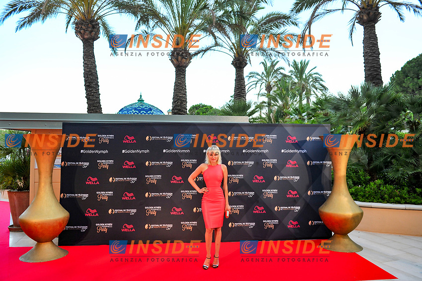 Malin Akerman (Billions)<br /> Monaco - 20/06/2017<br /> 57 festival TV Monte Carlo <br /> Foto Norbert Scanella / Panoramic / Insidefoto