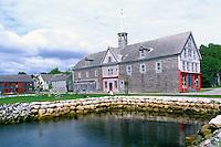 ?Cox's Warehouse? in the Historic District of Shelburne, Nova Scotia, Canada