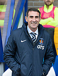 St Johnstone v Kilmarnock…31.08.19   McDiarmid Park   SPFL<br />Killie boss Angelo Alessio<br />Picture by Graeme Hart.<br />Copyright Perthshire Picture Agency<br />Tel: 01738 623350  Mobile: 07990 594431