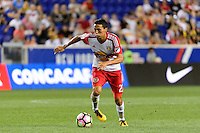 Harrison, NJ - Wednesday Aug. 03, 2016: Sean Davis during a CONCACAF Champions League match between the New York Red Bulls and Antigua at Red Bull Arena.