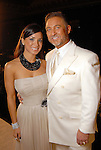 Rachel and Dr. Michael Brown at the Una Notte in Italia party at the Intercontinental Houston Hotel Saturday Nov. 07,2009. (Dave Rossman/For the Chronicle)