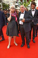 Raymond Depardon, sur le tapis rouge pour la projection du film TWIN PEAKS, événement pour le 70ème anniversaire, en competition lors du soixante-dixième (70ème) Festival du Film à Cannes, Palais des Festivals et des Congres, Cannes, Sud de la France, jeudi 25 mai 2017. Philippe FARJON / VISUAL Press Agency