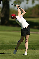 11 April 2007: Rebecca Durham during the Peg Barnard Collegiate at the Stanford Golf Course in Stanford, CA.