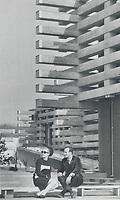 1967 FILE PHOTO - ARCHIVES -<br /> <br /> Japan's pavilion reinterprets traditional lines. Easily the most impressive it is built of pre-stressed concrete beams.<br /> <br /> 1967<br /> <br /> PHOTO : Boris Spremo - Toronto Star Archives - AQP