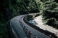 The Dauphiné chaingang<br /> <br /> Stage 5: Grenoble > Valmorel (130km)<br /> 70th Critérium du Dauphiné 2018 (2.UWT)