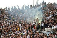 RIO DE JANEIRO, BRASIL - 04 de Dezembro de 2011 - Vasco da Gama X Flamengo - yorcida do Vasco ao inal da partida válida pelo Campeonato Brasileiro 2011, a última rodada, no estádio do Engenhão, Rio de Janeiro. O Vaco da Gama está na disputa pelo título do Brasileirão enquanto o Flamengo busca uma vaga para a Libertadores 2012. (Foto de Mauro Pimentel/News Free)