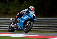 Jakub Smrz (96) of Lloyd & Jones PR Racing BMW during 2nd practice in the MCE BRITISH SUPERBIKE Championships 2017 at Brands Hatch, Longfield, England on 13 October 2017. Photo by Alan  Stanford / PRiME Media Images.