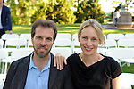 Laureen and David Barber at Tom Gold's Dance Performance at the Pocantico Center of the Rockefeller Brothers Fund.