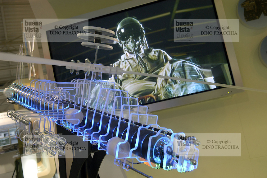 - stand Israeli Aeronautical Industry, electronic system of defense for combat helicopters....- stand industria Aeronautica israeliana, sistema elettronico di difesa per elicotteri da combattimento