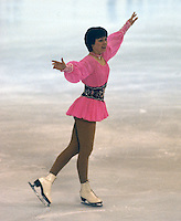 Dagmar Lurz of Germany competes at the 1978 World Figure Skating Championships in Ottawa, Canada. Photo copyright Scott Grant