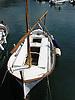 typical mallorquean fishing boat called Llaut in the fishing port of Puerto de Sóller<br /> <br /> Llaut en el puerto pesquero de Sóller (Port Sóller)<br /> <br /> typisch mallorquinisches Fischerboot, genannt Llaut, im Fischerhafen von Sóller