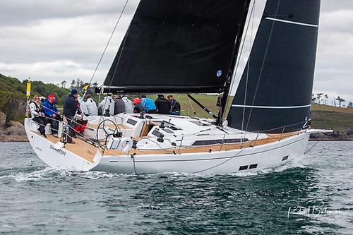 'Samatom' flying her North Sailx NPL TOUR Xi ARAMID / polyester mainsail and North Sails 3Di Code 2 Jib