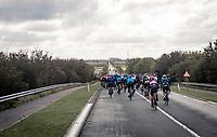 rolling into De Moeren<br /> <br /> 82nd Gent-Wevelgem in Flanders Fields 2020 (1.UWT)<br /> 1 day race from Ieper to Wevelgem (232km)<br /> <br /> ©kramon
