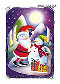 Isabella, CHRISTMAS SANTA, SNOWMAN, paintings(ITKE532144,#X#) Weihnachtsmänner, Schneemänner, Weihnachen, Papá Noel, muñecos de nieve, Navidad, illustrations, pinturas