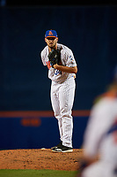 St. Lucie Mets relief pitcher Joseph Shaw (34) during a Florida State League game against the Florida Fire Frogs on April 12, 2019 at First Data Field in St. Lucie, Florida.  Florida defeated St. Lucie 10-7.  (Mike Janes/Four Seam Images)