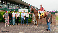 One Tough Cowgirl winning at Delaware Park on 6/3/13