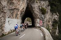 rock tunnel<br /> <br /> Stage 8: Nice to Nice (110km)<br /> 77th Paris - Nice 2019 (2.UWT)<br /> <br /> ©kramon