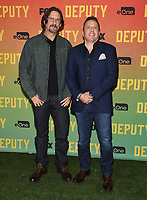 "LOS ANGELES, CA - NOVEMBER 18: David Ayer and Chris Long attend the advanced screening for Fox's ""Deputy"" at James Blakeley Theater on the Fox Studio Lot on November 18, 2019 in Los Angeles, California. on November 13, 2019 in Los Angeles, California. (Photo by Frank Micelotta/Fox/PictureGroup)"