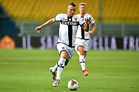 Jasmin Kurtic of Parma in action during the Serie A football match between Parma and FC Internazionale at stadio Ennio Tardini in Parma ( Italy ), June 28th, 2020. Play resumes behind closed doors following the outbreak of the coronavirus disease. <br /> Photo Andrea Staccioli / Insidefoto