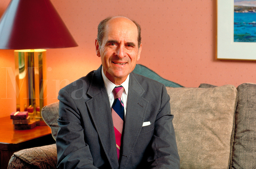 Dr. Heimlich, inventor and developer of the Heimlich maneuver. Editorial use only. United States.