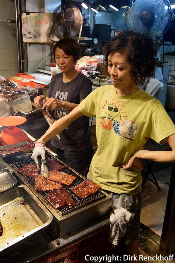 Garküche in Kowloon, Hongkong, China<br /> foodstall in Kowloon, Hongkong, China