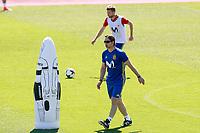 Spain's coach Julen Lopetegui and Asier Illarramendi during training session. June 5,2017.(ALTERPHOTOS/Acero)