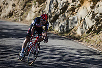 Thomas De Gendt (BEL/Lotto Soudal) descending Col de Turini<br /> <br /> 107th Tour de France 2020 (2.UWT)<br /> (the 'postponed edition' held in september)<br /> Stage 2 from Nice to Nice 186km<br /> ©kramon