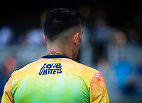 SAN JOSE, CA - AUGUST 17: Cristian Espinoza before a game between Minnesota United FC and San Jose Earthquakes at PayPal Park on August 17, 2021 in San Jose, California.