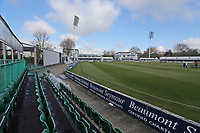 General view of the ground ahead of Essex CCC vs Durham CCC, LV Insurance County Championship Group 1 Cricket at The Cloudfm County Ground on 16th April 2021