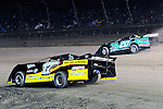 Sep 12, 2010; 12:26:44 AM; Rossburg, OH., USA; The 40th annual running of the World 100 Dirt Late Models racing for the Globe trophy at the Eldora Speedway.  Mandatory Credit: (thesportswire.net)