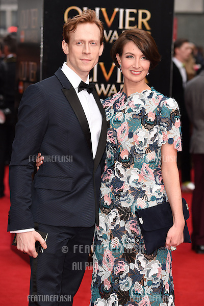 Edward Watson and Lauren Cuthbertson arrives for the Olivier Awards 2015 at the Royal Opera House Covent Garden, London. 12/04/2015 Picture by: Steve Vas / Featureflash