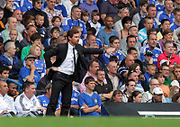 Pictured: Chelsea manager Andre Villas-Boas. Saturday 17 September 2011<br />
