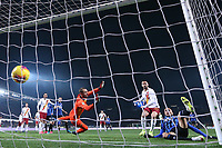 Jose Palomino of Atalanta scores to level the game at 1-1 during the Serie A match at Gewiss Stadium, Bergamo. Picture date: 15th February 2020. Picture credit should read: Jonathan Moscrop/Sportimage PUBLICATIONxNOTxINxUK SPI-0488-0034<br /> Atalanta BC - AS Roma <br /> Photo Jonathan Moscrop / Sportimage / Imago / Insidefoto