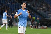 30th September 2021;  Stadio Olimpico, Rome, Italy;Europa League Football, SS Lazio versus Lokomotiv Moscow: Pedro of SS Lazio