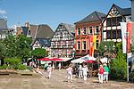 Germany, Rhineland-Palatinate, Ahr-Valley, Bad Neuenahr-Ahrweiler, district Ahrweiler: market square | Deutschland, Rheinland-Pfalz, Ahrtal, Bad Neuenahr-Ahrweiler, Stadtteil Ahrweiler: Marktplatz