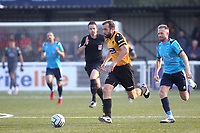 Jake Gallagher of Maidstone United in action during Maidstone United vs Eastbourne Borough, Vanarama National League South Football at the Gallagher Stadium on 9th October 2021