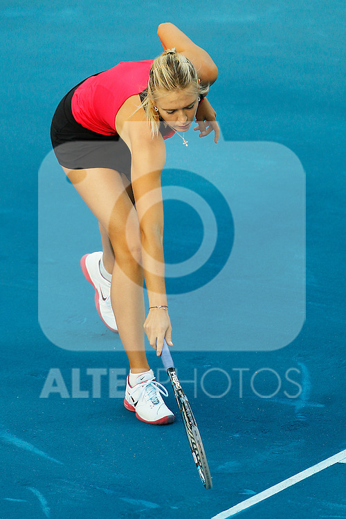 Maria Sharapova during Mutua Madrid Open 2012 match on may 6th 2012...Photo: Cesar Cebolla / ALFAQUI