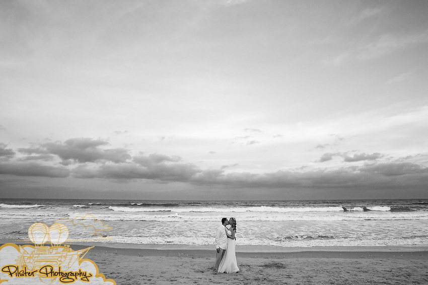 Terry Wooldrige and Rachael Underwood at their wedding on Monday, December, 31, 2012 at the Melbourne Beach Hilton in Melbourne Beach, Florida. Their reception took place at the City Tropics Bistro. (Chad Pilster of PilsterPhotography.net)