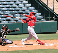 D'Shawn Knowles - Los Angeles Angels 2021 extended spring training (Bill Mitchell)