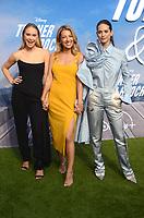 "LOS ANGELES - JUL 15:  Becca Tobin, Vanessa Lengies, Lyndsy Fonseca at Disney+ ""Turner & Hooch"" Premiere Event at Westfield Century City Mall on July 15, 2021 in Century City, CA"