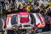 #18: Kyle Busch, Joe Gibbs Racing, Toyota Supra Combos in victory lane